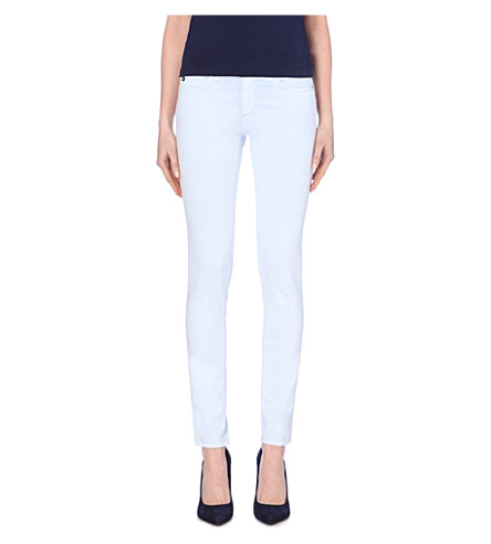 AG Stilt slim-fit mid-rise cigarette jeans (Pgt-pyt