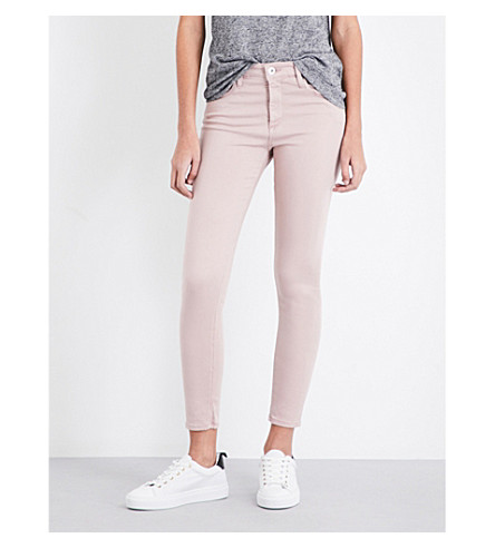AG The Farrah skinny high-rise jeans (Sul-dvm