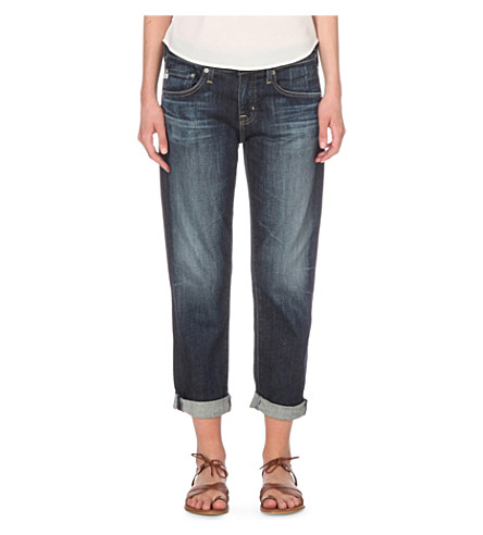 AG The Ex-Boyfriend slim mid-rise jeans (10+years+timeless