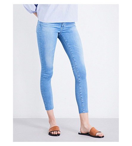 AG The Middi Ankle skinny mid-rise jeans (17+years+daybreak