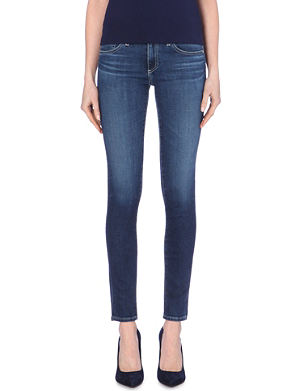 AG The Stilt cigarette low-rise jeans