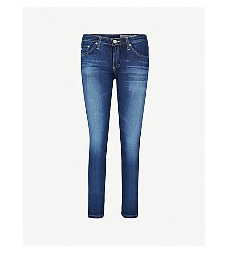 AG Stilt slim-fit mid-rise cigarette jeans (11+years+journey