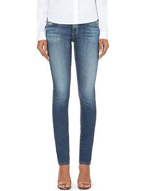 AG The Stilt cigarette mid-rise jeans