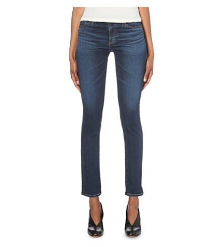 AG The Prima skinny mid-rise jeans (Workroom