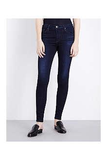 AG Farrah mid-rise skinny jeans