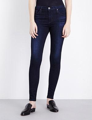 AG The Farrah skinny mid-rise jeans