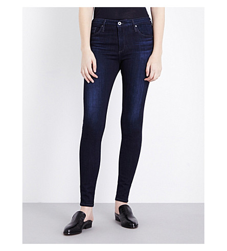 AG The Farrah skinny high-rise jeans (Brooks