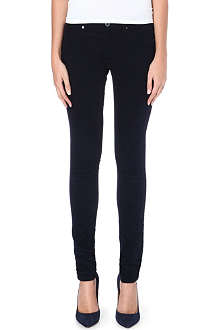 AG Corduroy mid-rise skinny jeans