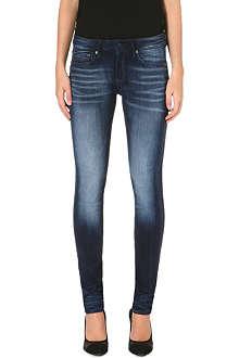 G STAR Contour skinny mid-rise stretch-denim jeans