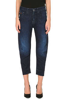 G STAR Type C 3D loose-fit tapered low-rise stretch-denim jeans