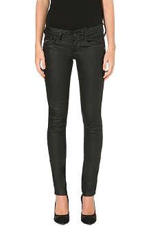 G STAR The Lynn skinny mid-rise stretch-denim jeans