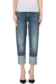 G STAR Lumber Kate cropped mid-rise jeans