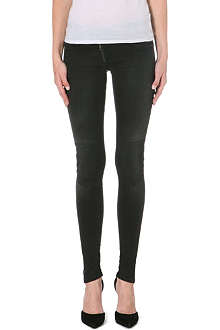 G STAR Lynn Zip Shablon skinny mid-rise stretch-denim jeans