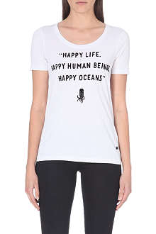 G STAR RAW for the Oceans happy life t-shirt