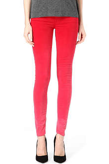 MOTHER The Looker ombré skinny mid-rise jeans