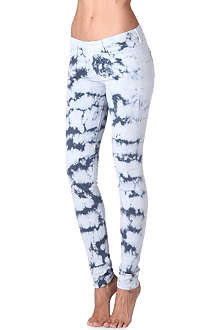 MOTHER The Looker Icebreaker printed mid-rise jeans