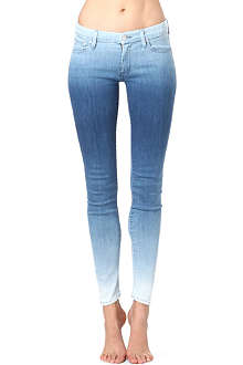 MOTHER The Looker skinny ombre jeans