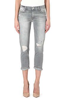 MOTHER The Dropout boyfriend mid-rise jeans
