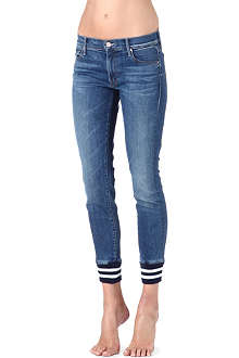 MOTHER Skinny Trainer skinny mid-rise jeans