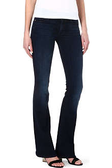 MOTHER The Cruiser flare mid-rise jeans
