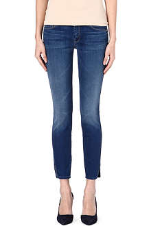 MOTHER The Vamp skinny mid-rise jeans