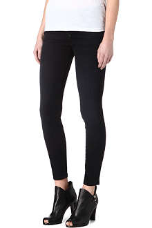MOTHER The Pixie skinny mid-rise jeans
