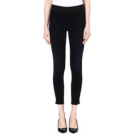 GOLDSIGN Jem skinny mid-rise leggings (Blue+black