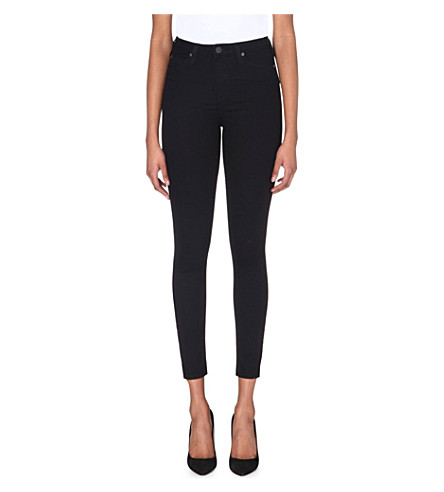 LEE Skyler skinny high-rise jeans (Black