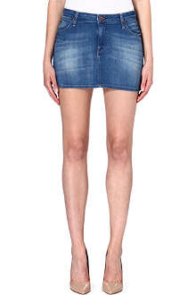 LEE Denim mini skirt