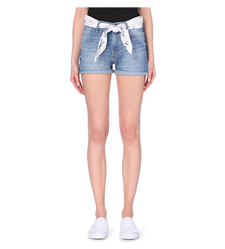 LEE High-rise denim shorts (Spring journey