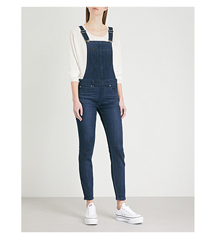 BODY OPTIX BY LEE JEANS Body Optix skinny stretch-denim dungarees (After+night