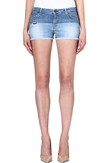 LEE Two-tone denim shorts