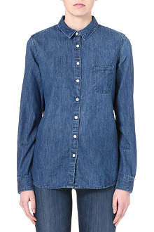 LEE Single pocket denim shirt