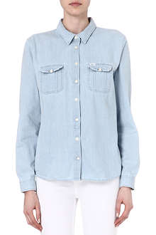 LEE Slouchy denim shirt