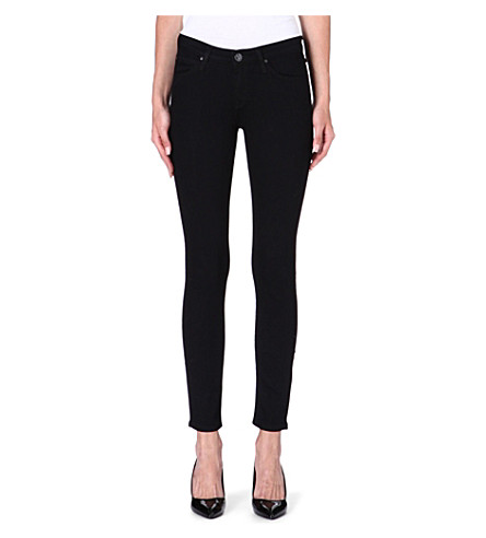 LEE Scarlett skinny high-rise jeans (Black