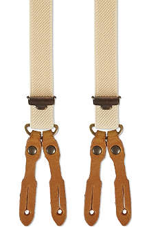 LEE Logger khaki braces