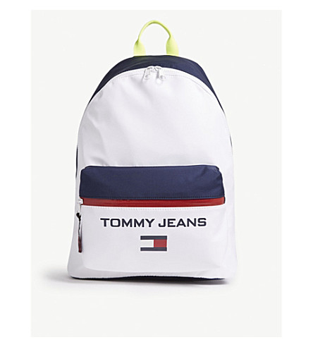 TOMMY JEANS 90s printed logo backpack (Corporate