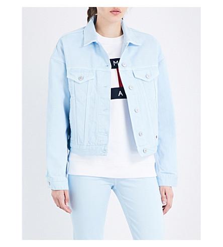 TOMMY JEANS 90s girlfriend denim jacket (Corydalis+blue