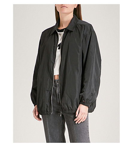TOMMY JEANS Shell coach jacket (Tommy+black
