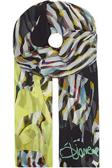 DIANE VON FURSTENBERG Stained glass scarf