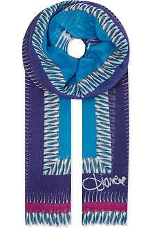 DIANE VON FURSTENBERG Hanover modal scarf