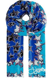 DIANE VON FURSTENBERG Stars scarf