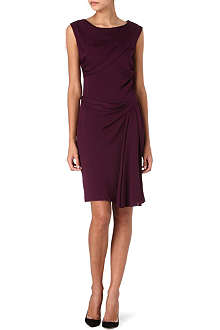 DIANE VON FURSTENBERG Bec draped silk-blend dress