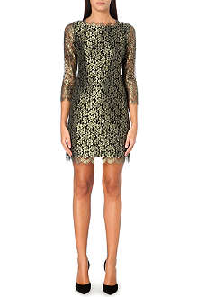 DIANE VON FURSTENBERG Zarita lace shift dress