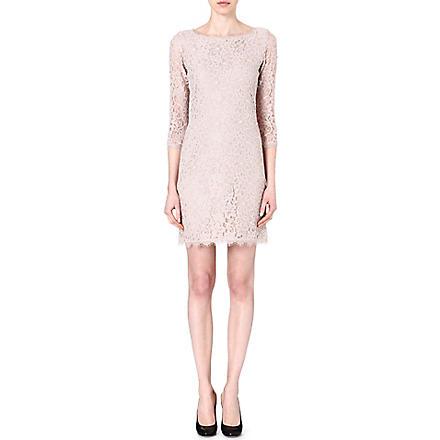 DIANE VON FURSTENBERG Zarita lace dress (Nude