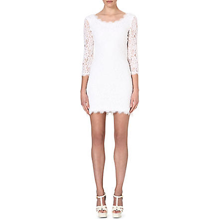 DIANE VON FURSTENBERG Zarita lace dress (White