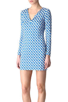 DIANE VON FURSTENBERG Reina tunic dress