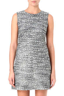 DIANE VON FURSTENBERG Carpre sleeveless tweed dress