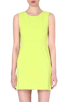 DIANE VON FURSTENBERG Carpreena crepe shift dress