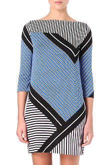 DIANE VON FURSTENBERG Ruri long-sleeve jacquard-print dress